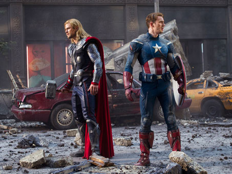 the-avengers-chris-hemsworth-chris-evans