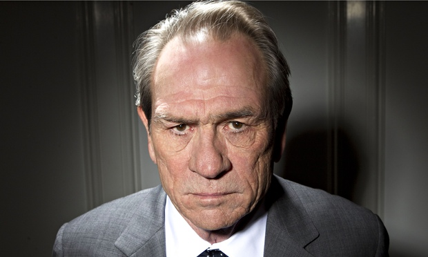 Basilisk stare … Tommy Lee Jones. Photograph: Robert Gauthier/Contour by Getty Images