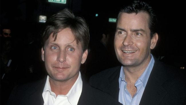 emilio estevez e charlie sheen