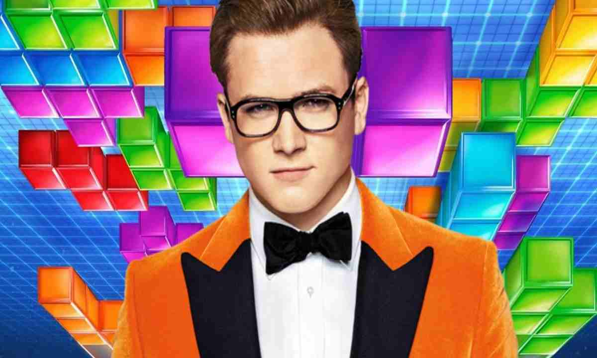 tetris movie taron egerton newscinema